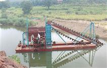 中国挖沙船、V抽沙船,采沙船筛沙机、二次水洗机