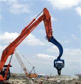 6吨柴油锤桩机配导杆式筒式柴油打桩锤打预制桩管桩方桩打桩机