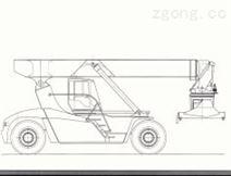 意大利热维(ZV)ZV4532PB内燃集装箱正面吊