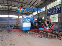 山东日照6寸小型绞吸式挖泥船—华洋矿沙机械有限公司