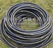 美国parker派克三层钢丝编织胶管4SP 派克372高压胶管