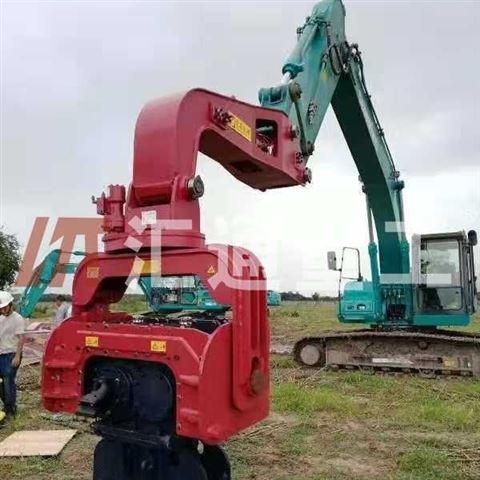 工程机械挖掘机打桩臂、液压打桩机不二之选