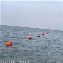 賽道區分警示浮筒內河船只警示錐形浮筒