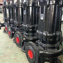 耦合式安裝高通過率污水潛水泵