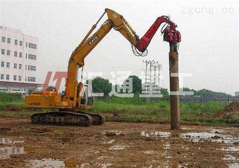 工程机械挖掘机打桩臂、液压打桩机安全可靠