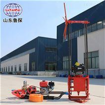 鲁探热销轻便地质钻机QZ-2C