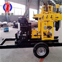 輪式拖掛行走液壓鉆機 百米地質水井鉆機