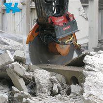 廠家液壓圓盤鋸360日立挖掘機挖機巖石鋸