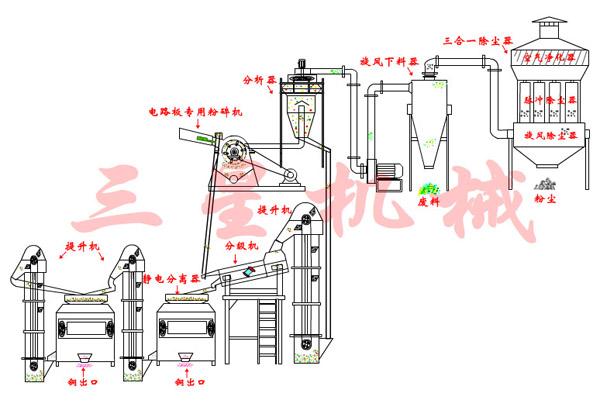 发动机整流电路板原理图